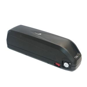Image 4 - E bike 48V battery box+Nickel sheets Storage Box lithium  Down tube Electric bike battery 48V case With free 18650 holder