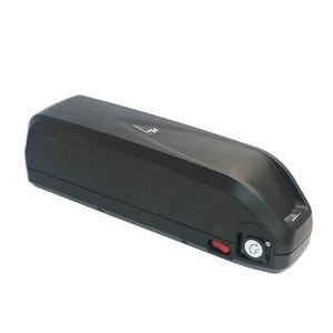 Image 4 - E bike caja de batería de 48V + hojas de níquel, caja de almacenamiento, tubo de bajada de litio, batería de bicicleta eléctrica, funda de 48V con soporte 18650 gratis