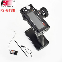 Flysky FS-GT3B FS GT3B 2.4G 3CH Gun RC System Zender met Ontvanger Voor RC Auto Boot met LED Scherm