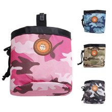 Портативная собачья уличная тренировочная сумка, собачка домашнее животное, карманная сумка для кормления щенка, награда, поясная сумка для тренировок
