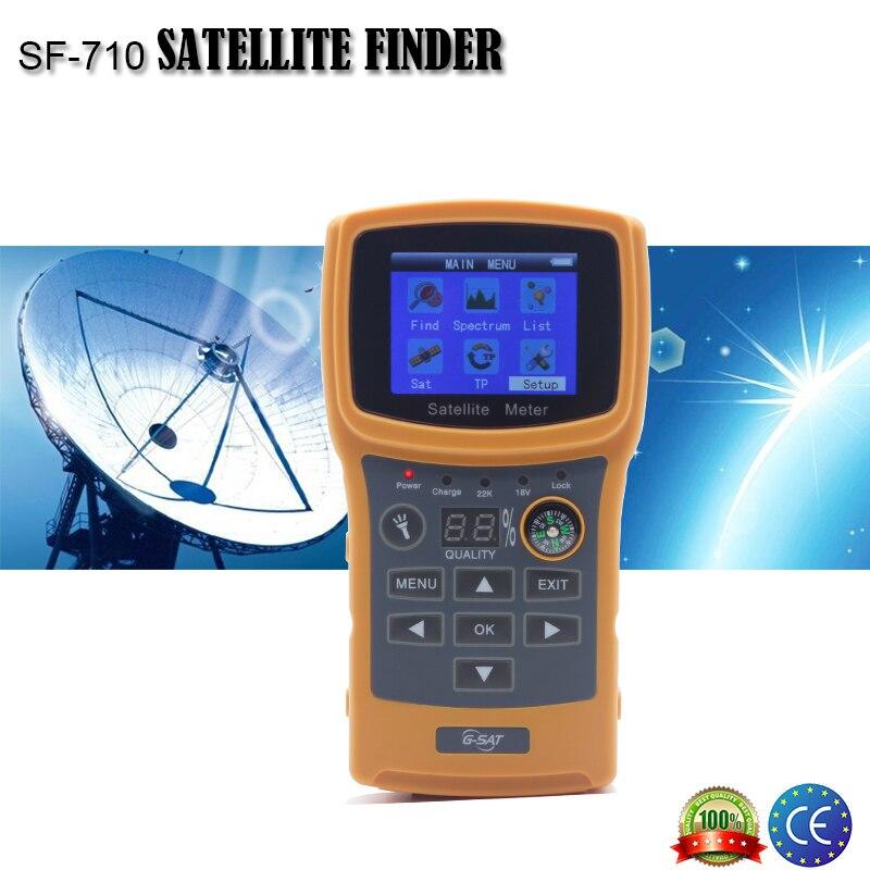 sf 710 satellite finder for satellite satellite tv receiver color display display. Black Bedroom Furniture Sets. Home Design Ideas