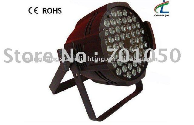 54 pcs led stage par light,led par stage light& free shipping