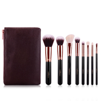 New 8pcs Makeup Brushes Set Rose Gold Make Up Brushes Soft Animal Or Synthetic Hair For