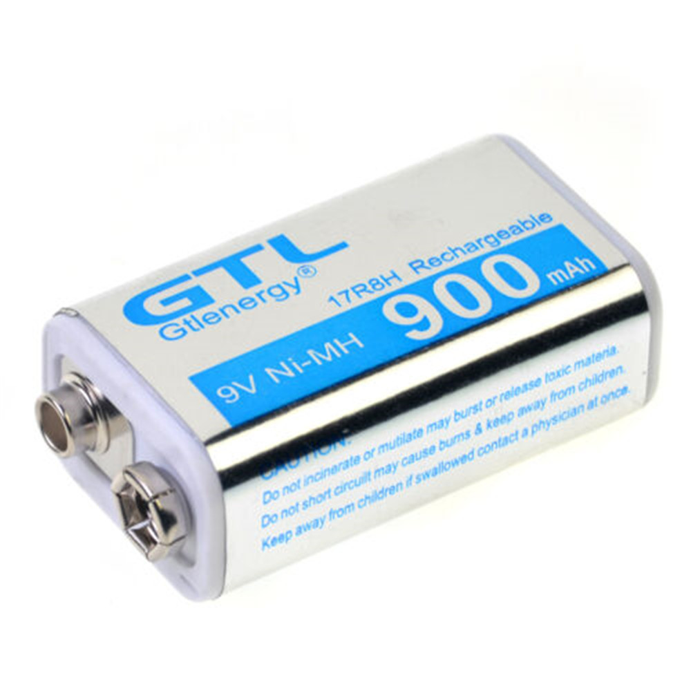 JRGK GTL 9V 900mAh Block Rechargeable Battery 5.7*2.5*1.6 (cm) Suitable For Models Such As RC Helicopters Pk Okcell
