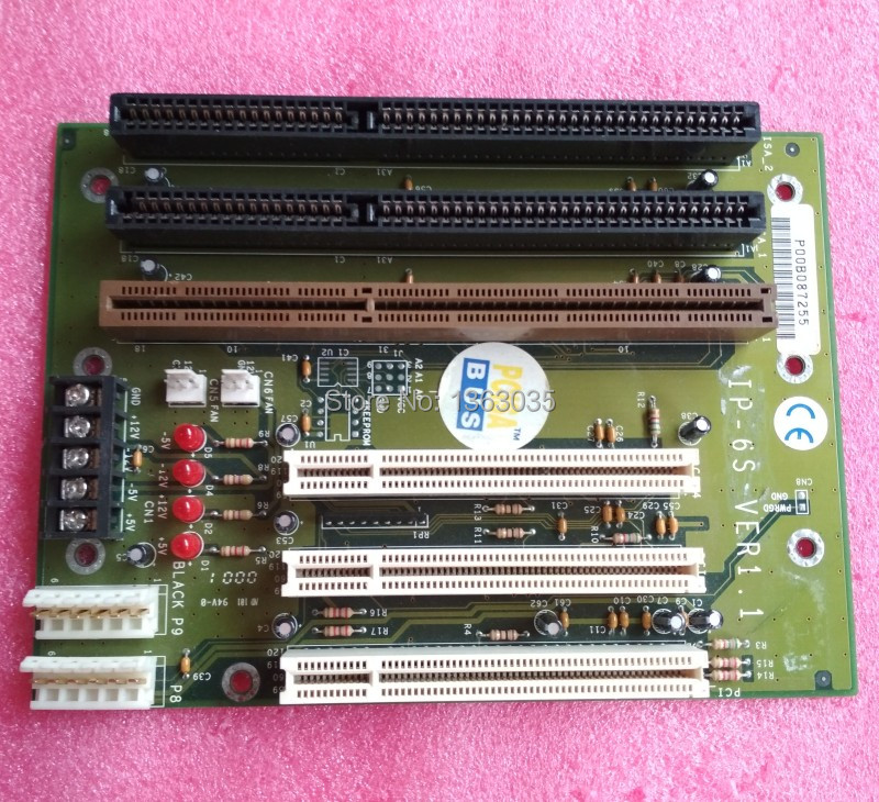 IEI PCISA 6-Slot 3PCI 2ISA Passive Backplane 10pcs//Box RoHS