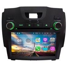 Quad-core 3G 4G WiFi Android 7.1.2 2 GB RAM reproductor de DVD GPS WiFi BT para chevrolet S10/Isuzu d-max 2013 2014 navegación GPS