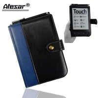 Pour Pocketbook Touch 622 eReader housse et PocketBook Touch 2 Lux 623 Flip housse en cuir folio film de protection + cadeau gratuit