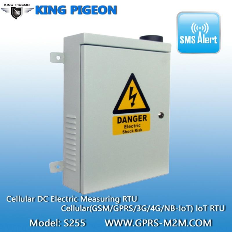 GSM 4G LTE контрольное наблюдение мощности система сотовая 2 CH DC электрическая измерительная интеллектуальная распределительная установка кон