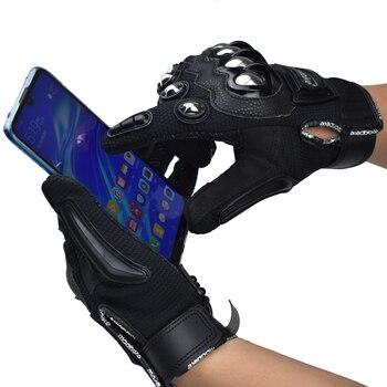 Guantes de moto Madbike rcycle, guantes de moto con pantalla táctil, dedos completos para hombre, guantes de moto de carreras, guantes de moto de cross gants, protectores para montar