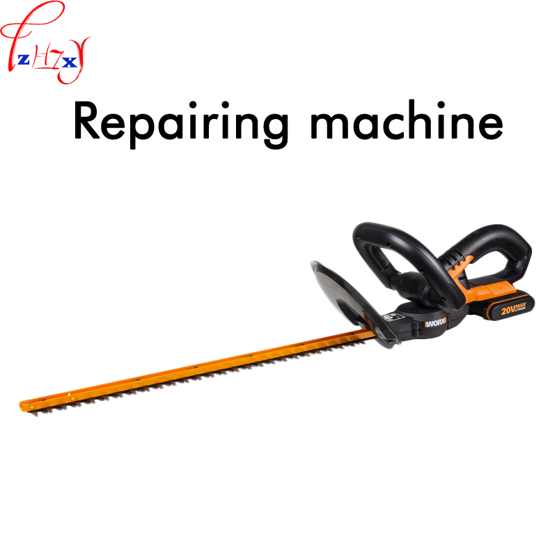 20 volt lithium electric hedger trimmer WG259E handheld household fence trimmer garden tools for pruning machines 1PC