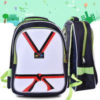 WTF Taekwondo Shoes Uniforms Backpack For Kids Child Students Sports Bags Kung Fu Training School Boys