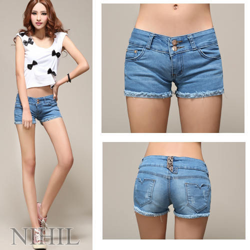 Aliexpress.com : Buy Women Casual Jeans Denim Short Women Shorts ...