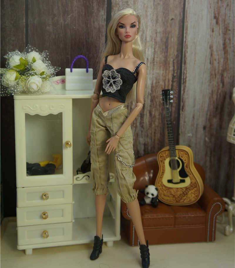 Наряд; офисный костюм ручной работы; повседневная одежда; коллекция 1/6 года; Аксессуары для кукол; модная юбка для Барби; благородная кукла; лучший подарок для девочек