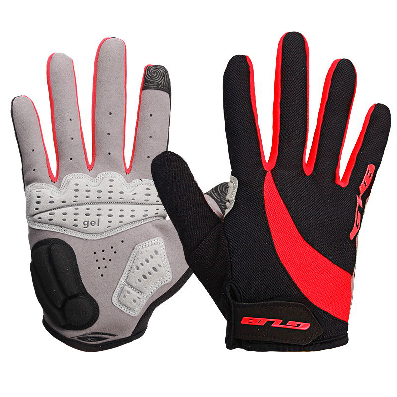Touch Screen GEL Bike gloves full finger Cycling bicycle glove men mountain sports glove eldiven guantes