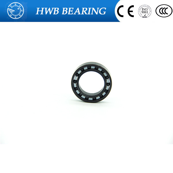 Free shipping 6000-2RS full SI3N4 ceramic deep groove ball bearing 10x26x8mm 6000 2RS P5 ABEC5 6000 2rs sealed deep groove ball bearing 10mm inner dia black silver tone