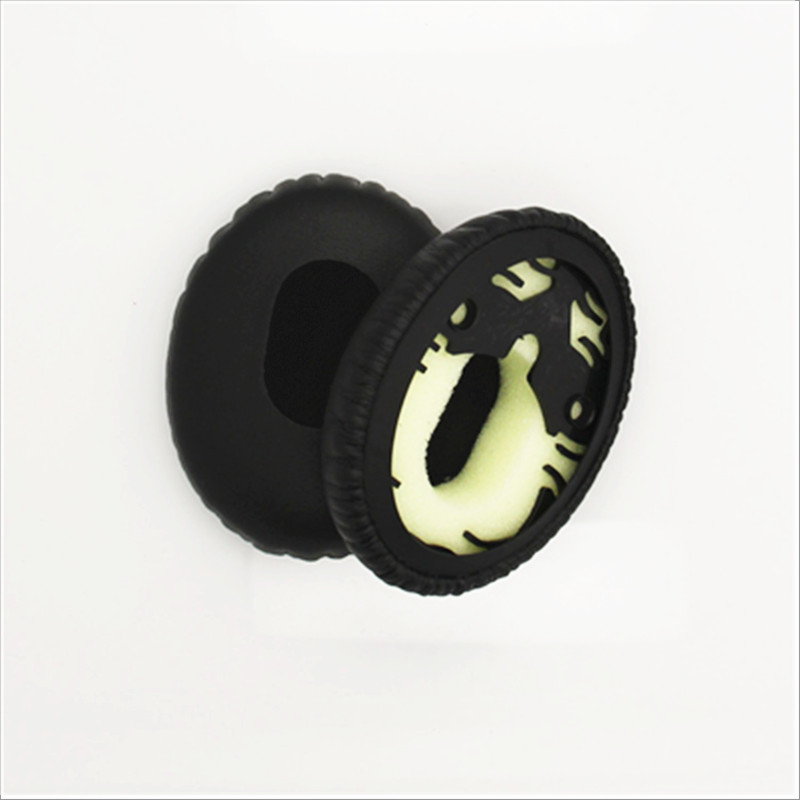 Linhuipad Replacement Protein Leatherette Ear Cup Ear Pads Cushions For QC3 on ear Headphones 100 pairs / lot