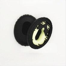 Linhuipad Wholesale 100 pairs Protein Leather Ear Cushion QC3 Ear Cup Ear Pads Cushions For QC3 over ear Headphones