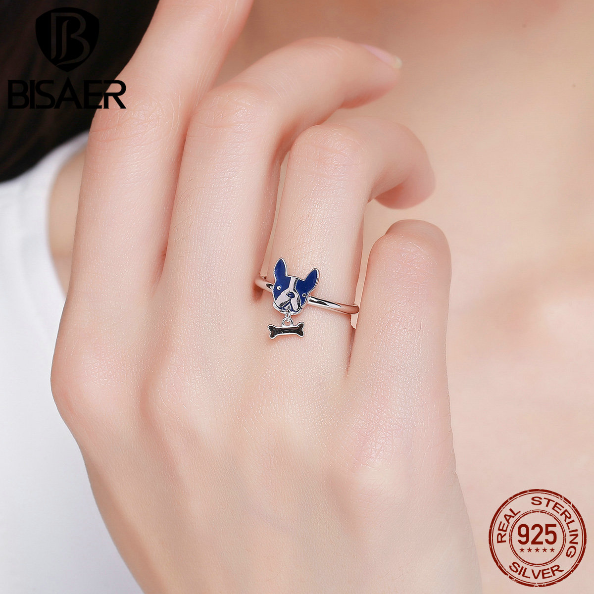 drop shipping Charm Jewelry Small dog and cat paw print antique ...
