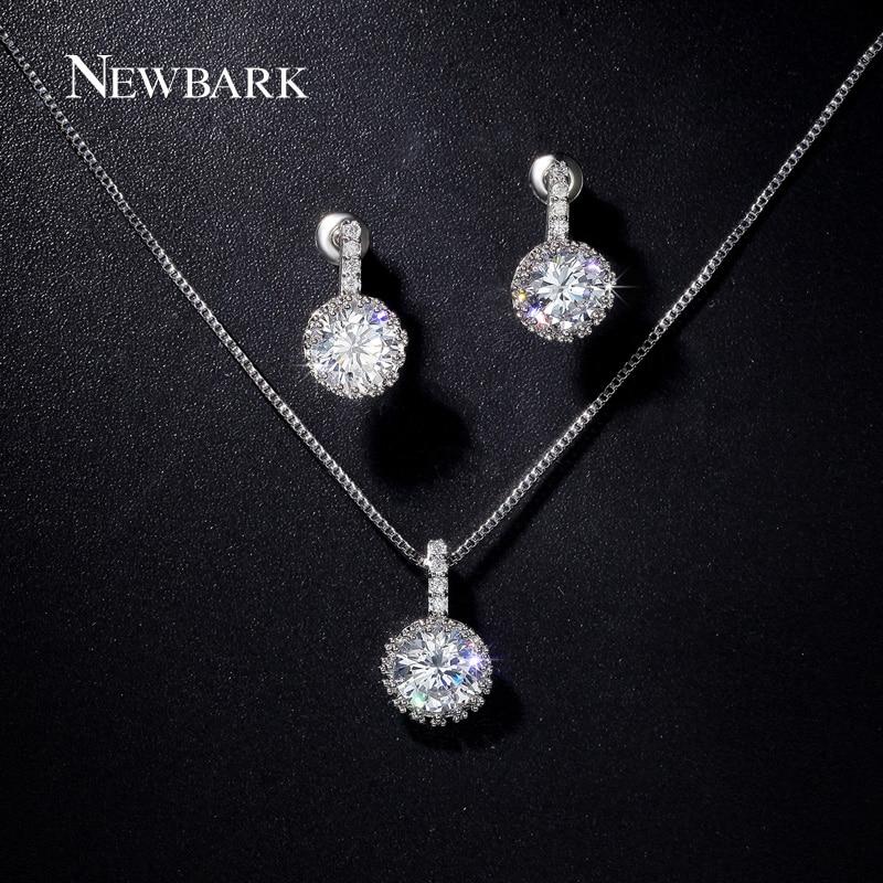 font b NEWBARK b font Classic New Girls Jewelry Sets with 1 Pair Stud Earrings