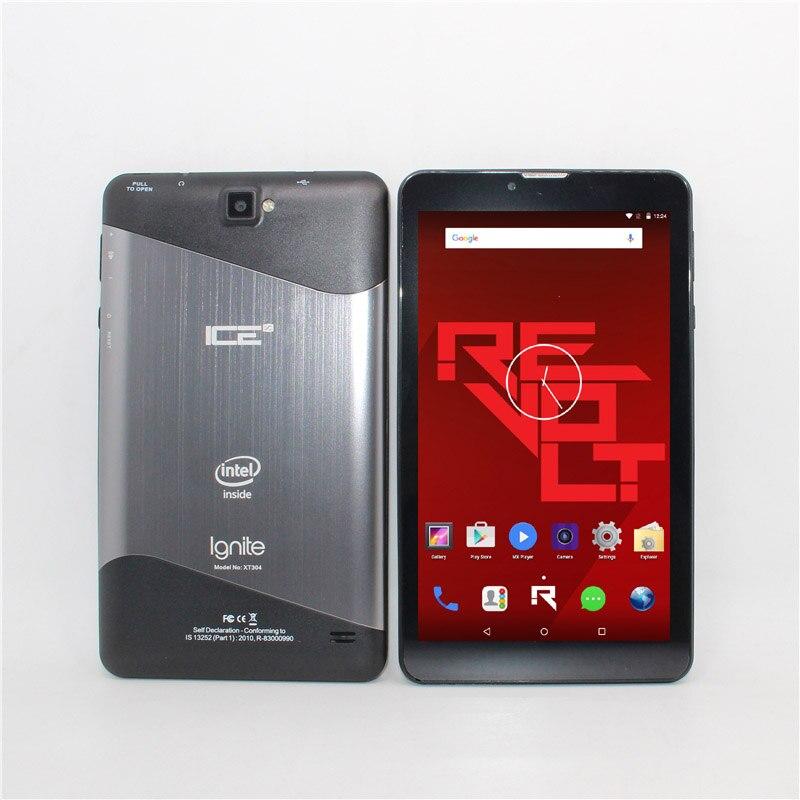 Bluetooth Support 3G Phone Call  7inch TabletPCIntel Atom Sofia 3GR  Quad Core Andriod 5.1 1+8GB  1024 X 600