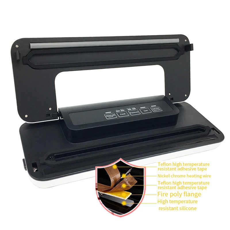 220V/110V Household Food Vacuum Sealer Vacuum Packager Machine Vacuum Packer sous vide helper Including 10pcs Bags