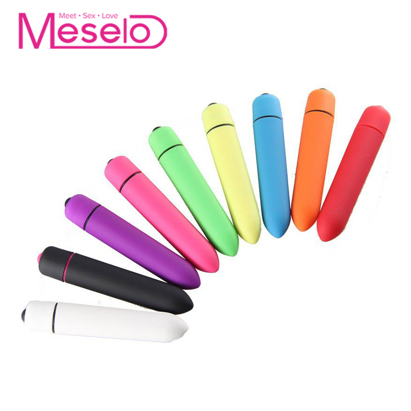 Buy Meselo 10 Speeds Mini Bullet Vibrator Adult Anal Toys Men, Silica Nipples Vagina Clitoral G-spot Vibrator Sex Toys Woman