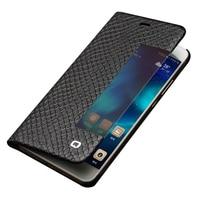 QIALINO Case for Huawei P10/ P10 Plus Ultrathin Genuine Leather senior Flip Cover for HUAWEI P10 Plus Sleep Wake Function
