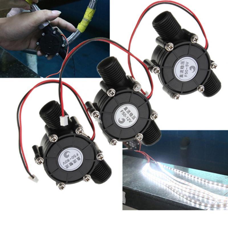 Микро гидро генератор 80 в/12 В/5 В 10 Вт DC микро гидро генератор расход водопроводной воды гидравлический DIY Высокая мощность потока генератор Двигатель