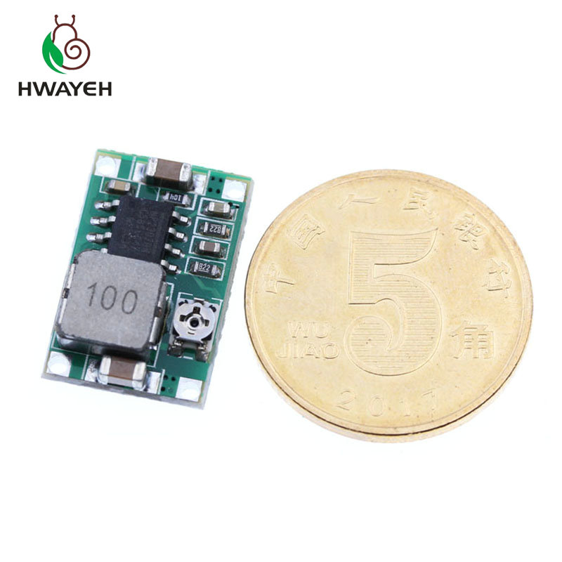 Image 4 - 5 pcs RC Airplane Module Mini 360 DC DC Buck Converter Step Down Module 4.75V 23V to 1V 17V 17x11x3.8mm Mini360 New LM2596-in Integrated Circuits from Electronic Components & Supplies