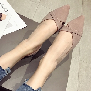 Image 5 - 2020 Lente Zomer Mode Vrouw Ballet Flats Schoenen Vrouwen Zachte Slip Op Enkele Schoenen Dames Schoenen Schoeisel Zapatos De Mujer zwart