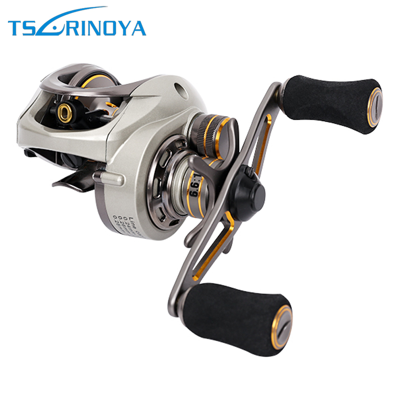 Tsurinoya Bait Casting Señuelo de pesca Carrete magnético y - Pescando