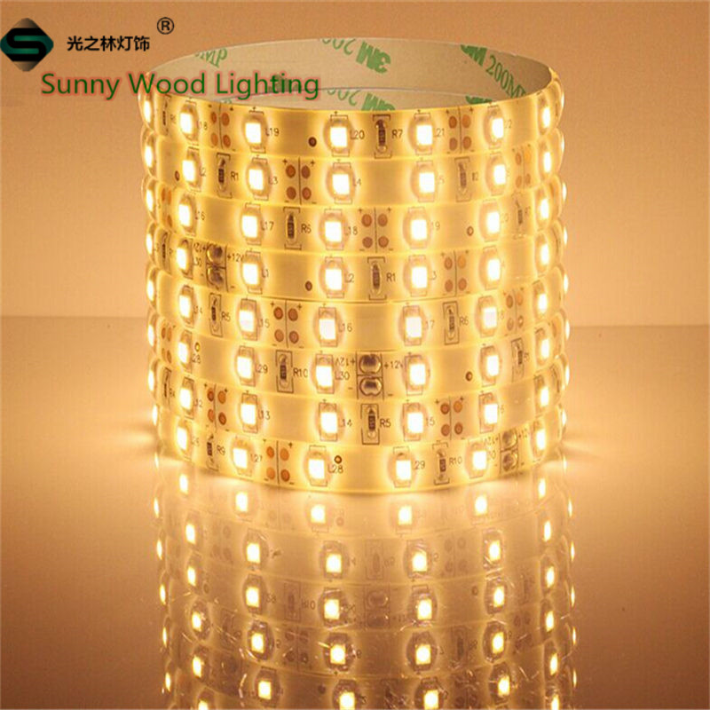 Free shipping by DHL Fedex UPS IP65 50 meters SMD3528 300LEDs Roll single color waterproof led