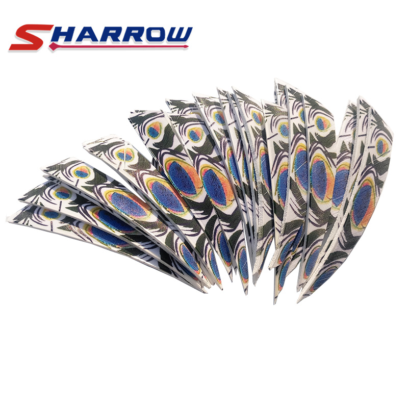 60 Pcs Arrow Feather 4 inch Turkey Feather Archery Bow Accessories Hunting in Bow Arrow from Sports Entertainment