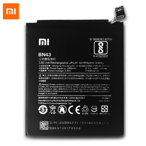Image 3 - XiaoMi Original Replacement Battery For Xiaomi Redmi Note 4X 4 X Capacity 4000/4100mAh BN43 Mobile Phone Battery