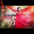 Му Жун В Красный Невесты Свадебный Костюм Древняя Китайская Косплей Костюм Фея Принцесса Костюм для Женщин