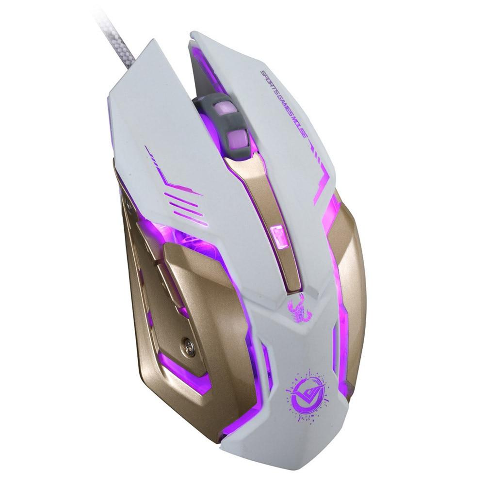 aliexpress com buy rajfoo gaming mouse ajustable 3200dpi 6