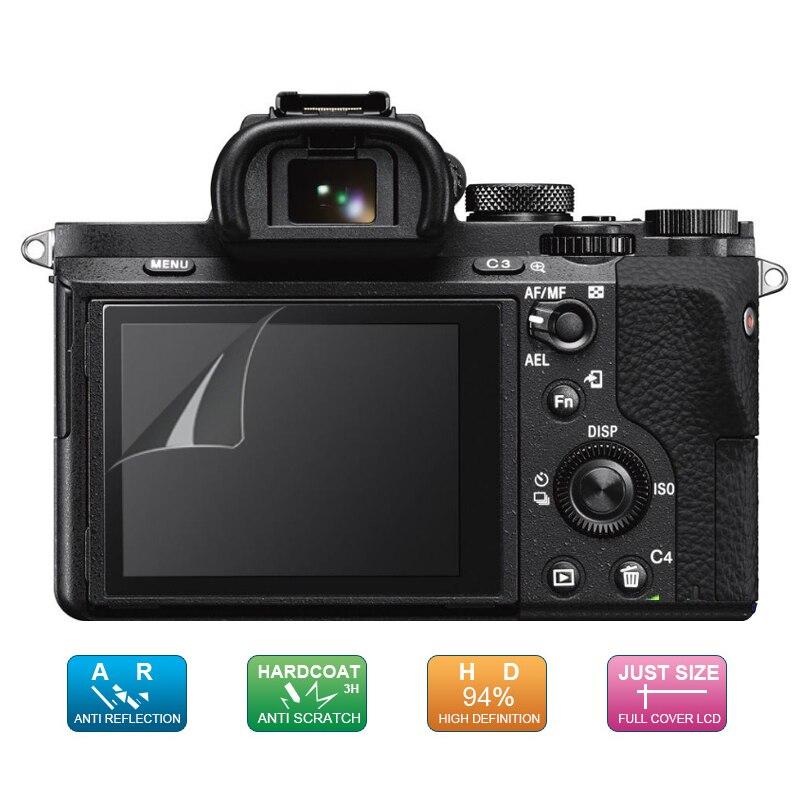 (6pcs, 3pack) LCD Guard Screen Display Protector for Sony A7 II III / A7S II / A7R II / A77 II / A7M2 A7SM2 A7RM2 A77M2 A99 A9