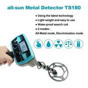 Image 2 - All sun TS180 Detector de metales de mano, impermeable, bajo tierra, alta precisión, tipo pequeño, instrumento de posicionamiento arqueológico