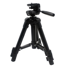 Professional Extendable  Aluminium Alloy Camera Video Tripod Monopod With Quick Release Plate Stand
