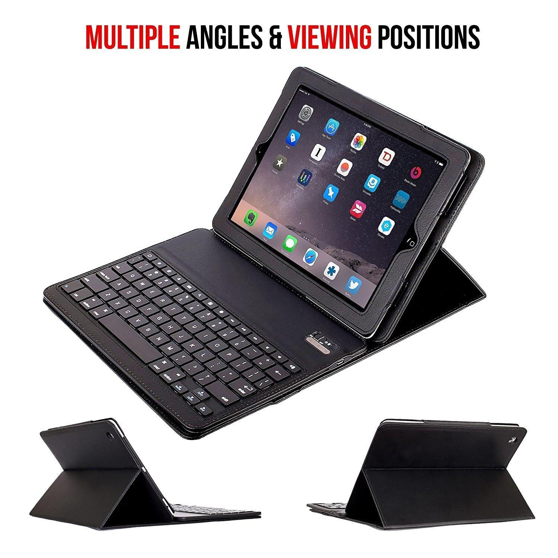 for iPad mini 2 3 4 Keyboard Case, Leather Cover Removable Wireless Bluetooth Keyboard Smart Case for ipad mini Tablet Stand laptop keyboard for hp for envy 4 1014tu 4 1014tx 4 1015tu 4 1015tx 4 1018tu backlit northwest africa 692759 fp1 mp 11m6j698w