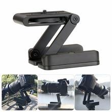 Câmera flexível tripé z pan tilt ballhead alumínio dobrável tripé bola cabeça solução universal para canon/nikon para iphone