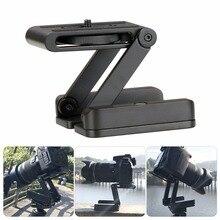Trípode flexible para cámara Z Pan Tilt Ballhead, soporte de trípode plegable de aluminio, solución Universal para Canon/Nikon para iPhone
