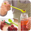 Long-handled fork combo colander, kitchen tools fishing canned fruit fork, spoon to dig the ball device