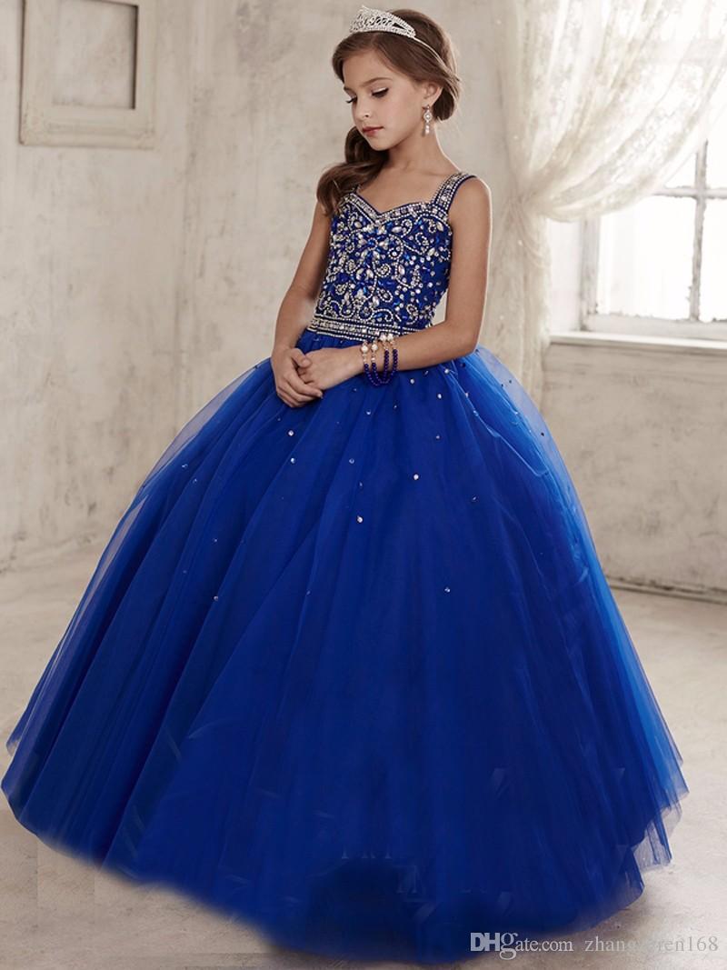 1d0cea348 Vestidos para graduacion de primaria azul rey - Vestidos elegantes 2019
