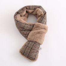 cf5f2004d60 Mode foulards pour femmes hiver Patchwork chaud longue laine châle Plaid  doux cou écharpe Pashmina écharpes
