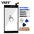 A+++ Replacement Touch Screen Digitizer Panel For BLU Life 8 L280 L280a L280i Cell Phone Touch Glass Lens Sensor Adhesive Logo