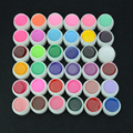 HNM 8ml Pure Color UV Gel Nail Polish Extension Nail Gel Color Art Decorations 1pcs Professional Manicure Gel Lak 36 Colors