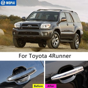 Image 2 - MOPAI Car Stickers for Toyota 4 Runner 2017+ Car Door Grab Handle Decoration Cover Trim for Toyota 4Runner 2017+ Car Accessories