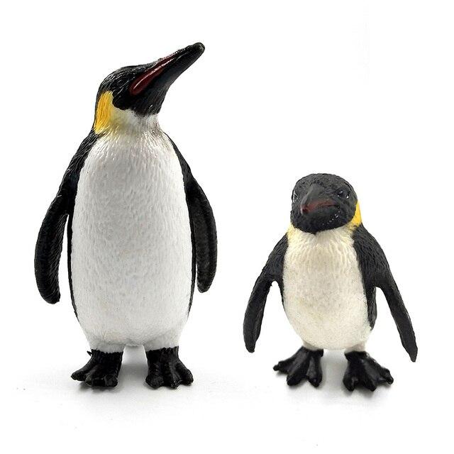 Sea fish Penguin Sea Lion Fish Skate Sawfish figurine animals model PVC home decor miniature fairy garden decoration accessories 3