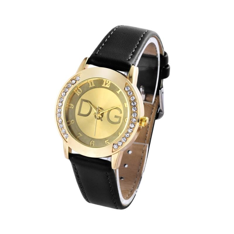 Kobiet Zegarka 2018 Fashion Brand Bear New Casual Leather Quartz Watch Relogio